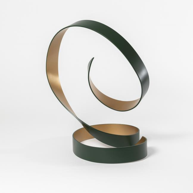 Green and gold dance sculpture 2