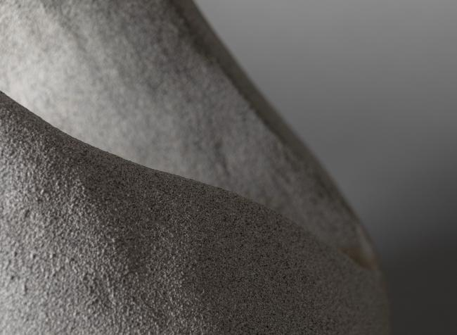 Stone abstract sculpture 3